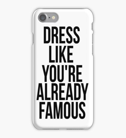 Quote - Fashion iPhone Case/Skin