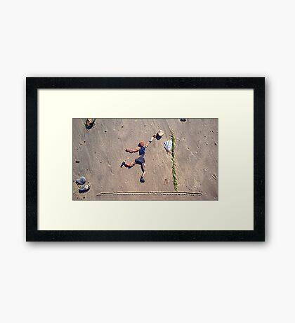 Basketball Framed Print