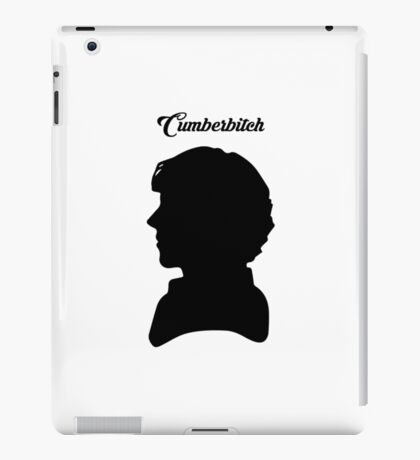 CUMBERBITCH - Sherlock TV Series/Benedict Cumberbatch Fan iPad Case/Skin