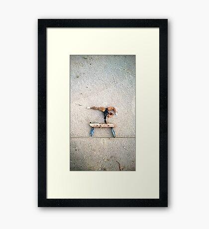 Balance Beam - Gymnastics Framed Print