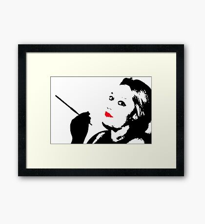 Sexy Wife Framed Print