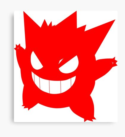Pokemon Ectoplasma,Gengar Canvas Print