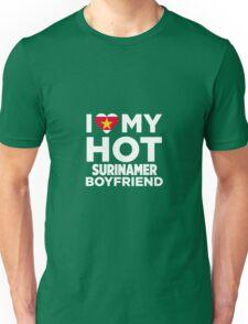 I Love My Hot Surinamer Boyfriend Unisex T-Shirt
