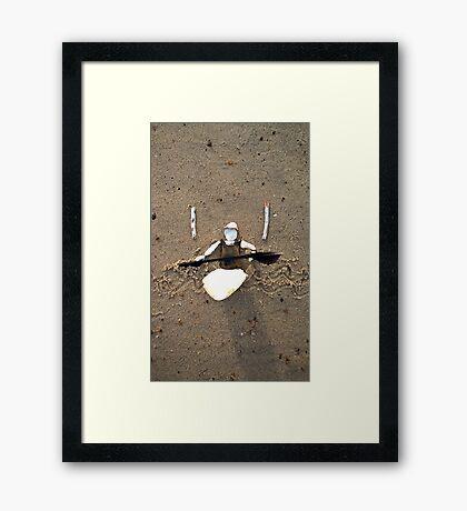Kayak/Canoe Framed Print