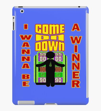 TV Game Show - TPIR (The Price Is...) I Wanna Be A Winner iPad Case/Skin