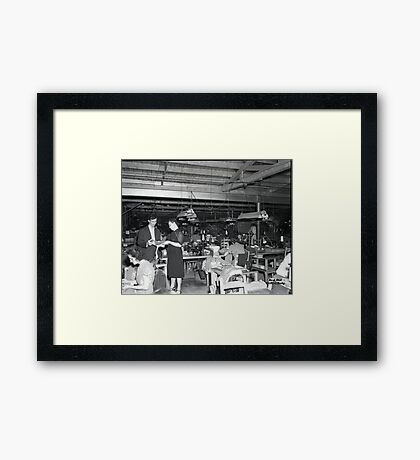 1948 MARCH, MERIT MANUFACTURING, MAYFIELD, KENTUCKY NO.11 Framed Print