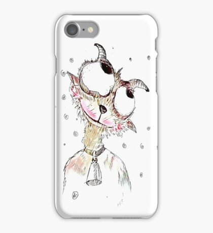 Fun goat iPhone Case/Skin