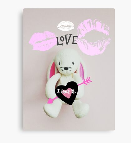 Some Bunny To Love Canvas Print
