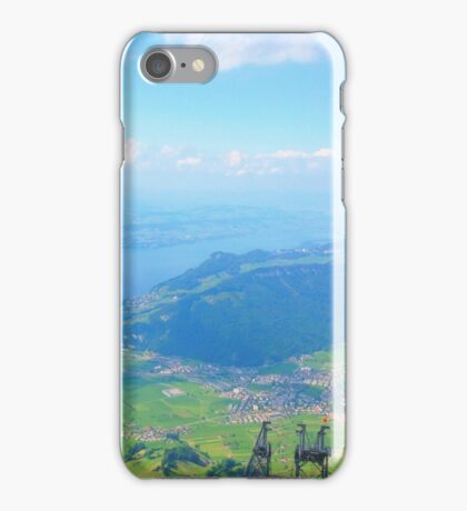 Green Landscape from Above iPhone Case/Skin