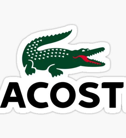 Lacoste Sticker