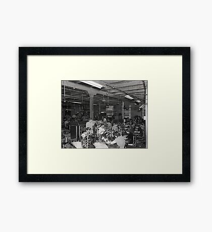 1948 MARCH, MERIT MANUFACTURING, MAYFIELD, KENTUCKY NO.14 Framed Print