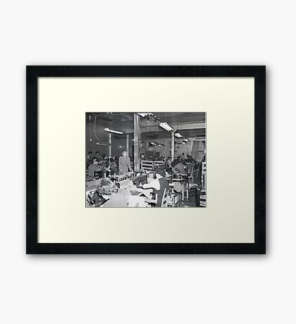1948 MARCH, MERIT MANUFACTURING, MAYFIELD, KENTUCKY NO.15 Framed Print