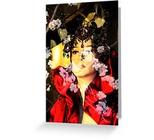Tribute to Alexander McQueen Greeting Card
