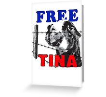 FREE TINA Greeting Card