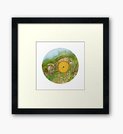 Hobbit Hole  Framed Print