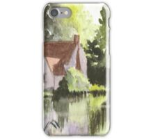 Cottage made famous by Constable iPhone Case/Skin