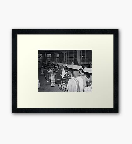 1948 MARCH, MERIT MANUFACTURING, MAYFIELD, KENTUCKY NO.19 Framed Print