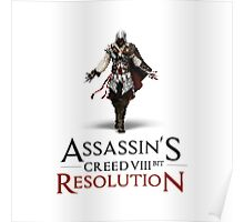 ASSASSIN'S CREED VIII BIT : RESOLUTION Poster