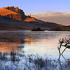Old Man of Storr in Winter. Trotternish. Isle of Skye. Scotland. by photosecosse /barbara jones