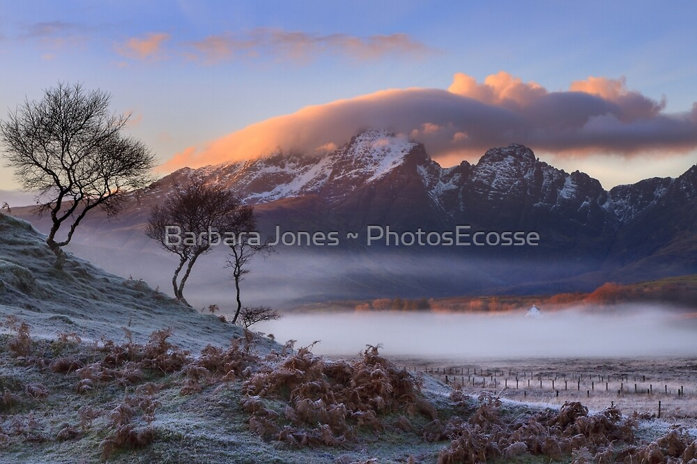 Blaven and Winter Mists. Isle of Skye. Scotland. by PhotosEcosse