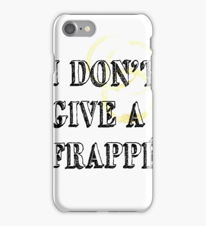 I Don't Give a (BOLD) iPhone Case/Skin