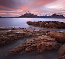 Elgol. Sunset in Winter. Isle of Skye. Scotland. by photosecosse /barbara jones