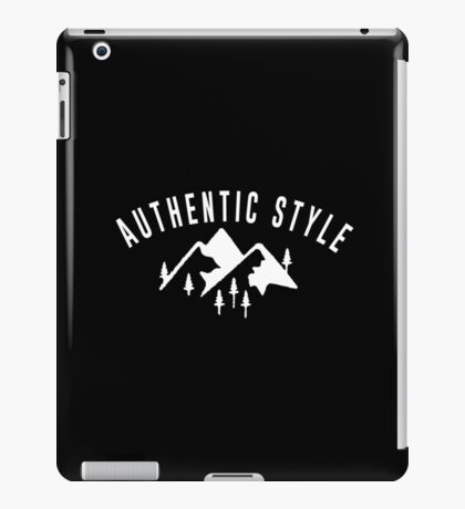 Authentic style! iPad Case/Skin