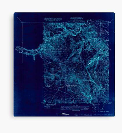USGS TOPO Map California CA Carrisalito Spring 295979 1920 31680 geo Inverted Canvas Print