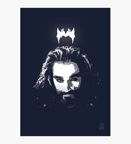 King Under the Mountain - Team Thorin Photographic Print