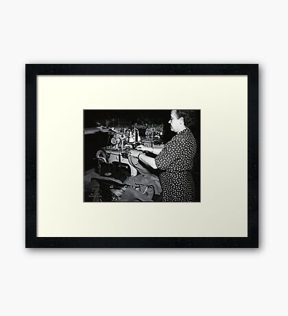 1948 MARCH, MERIT MANUFACTURING, MAYFIELD, KENTUCKY NO.23 Framed Print