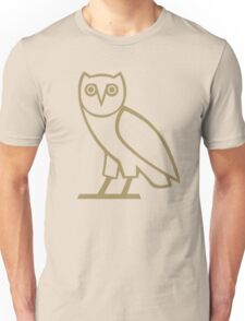 owl in black Unisex T-Shirt