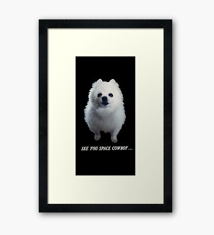 Gabe the Dog (In Memoriam) Framed Print