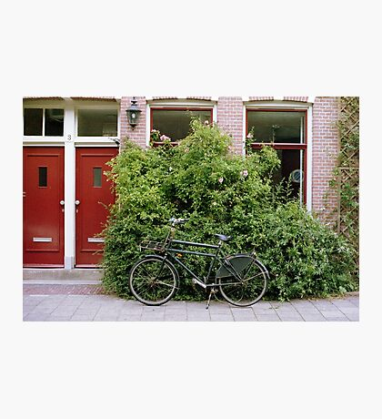 Amsterdam Bicycle in Film Photographic Print