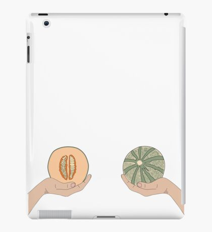 Melon boobs iPad Case/Skin