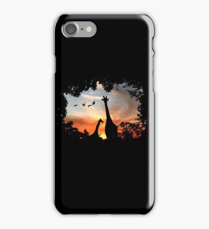 Wild African Sunset iPhone Case/Skin