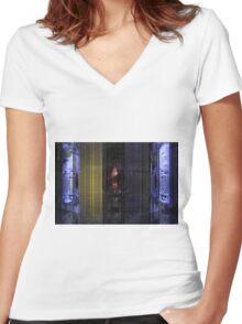 Hyper Cocooning Women's Fitted V-Neck T-Shirt