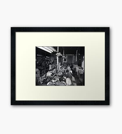 1948 MARCH, MERIT MANUFACTURING, MAYFIELD, KENTUCKY NO.25 Framed Print