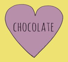 CHOCOLATE LOVE Kids Clothes