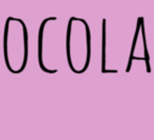 CHOCOLATE LOVE Sticker