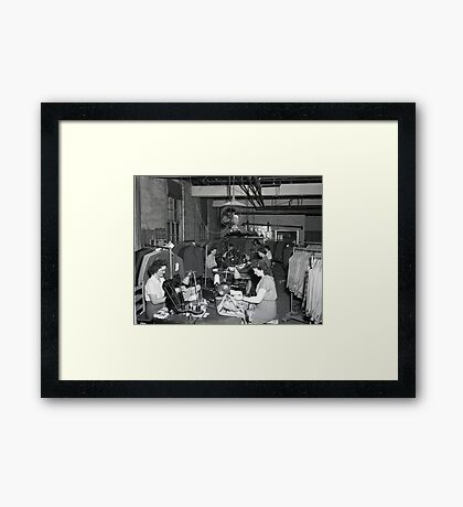 1948 MARCH, MERIT MANUFACTURING, MAYFIELD, KENTUCKY NO.28 Framed Print