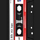 80s Mix Tape Phone 6 Case by ImageMonkey