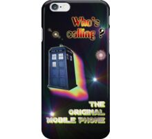 Who's Calling? The Original Mobile Phone Design iPhone Case/Skin