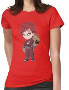 Naruto Gaara Womens Fitted T-Shirt