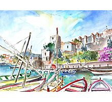 Collioure Harbour 01 Photographic Print