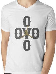 Drake, OVO Mens V-Neck T-Shirt