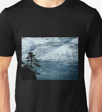 A Tree And The Deep Blue Sea...Seal Beach, Oregon Unisex T-Shirt