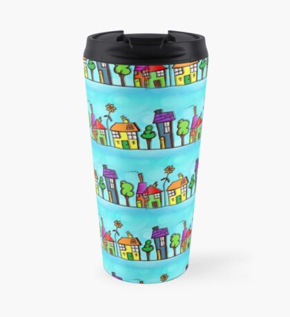 Happy City Design - Happiness Kid Design Travel Mug