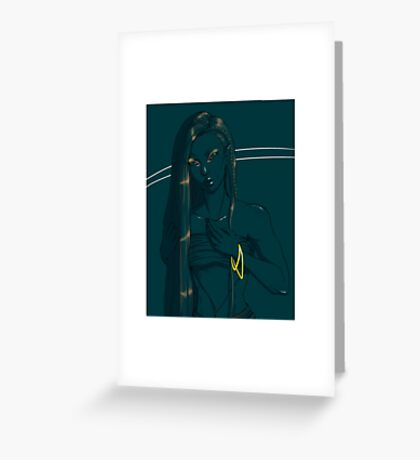 Sea Jade Greeting Card