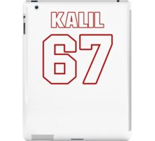 NFL Player Ryan Kalil sixtyseven 67 iPad Case/Skin