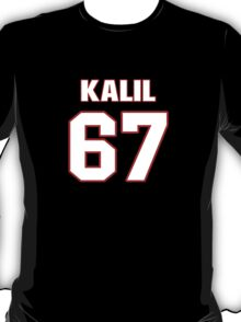 NFL Player Ryan Kalil sixtyseven 67 T-Shirt